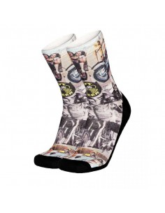 chaussette homme Pull-in noir Socks long chopper