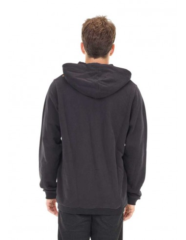 sweat zip picture noir Base. hoody zip