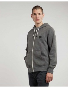 sweat zip homme Element gris Heavy zh