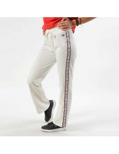 pantalon femme Champion blanc Straight hem pants - 110881