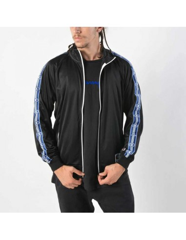 veste homme Champion bleu Full zip sweatshirt - 212427