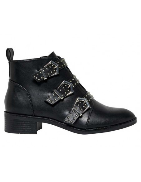 bottine femme Only noir Onlbright pu bootie