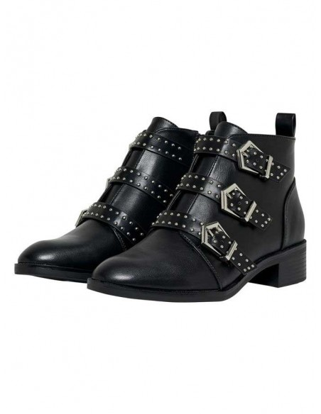 bottine Only noir Onlbright pu bootie