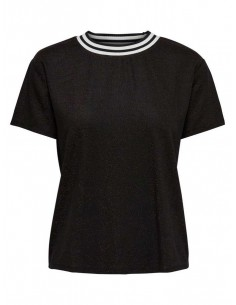 top femme Only noir Onlalley s/s top jrs