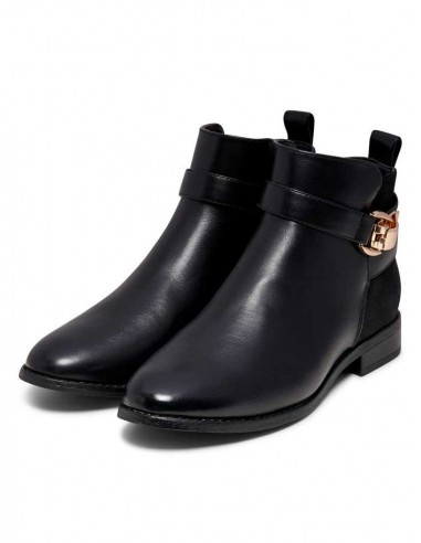 bottine Only noir Onlbobby buckle bootie