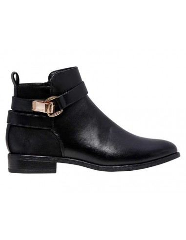 bottine femme Only noir Onlbobby buckle bootie