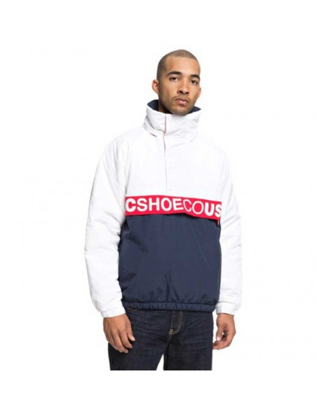veste homme DC SHOES blanc Howsthat