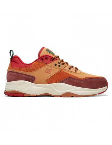 sneaker homme DC sHOES marron E.tribeka se BURGUNDY/TAN