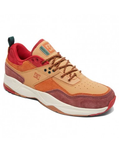 skate shoes homme DC sHOES marron E.tribeka se BURGUNDY/TAN