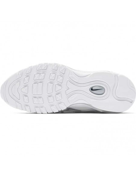 sneaker nike blanc Boys' nike air max 97 (gs) running shoe 921522-100
