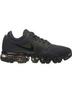 sneaker enfant nike kaki Boys' nike air vapormax (gs) running shoe 917963-012