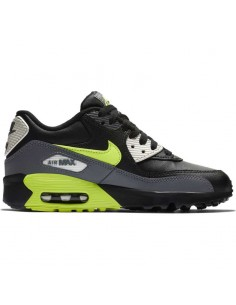 sneaker enfant nike gris Boys' nike air max 90 leather (gs) shoe 833412-023