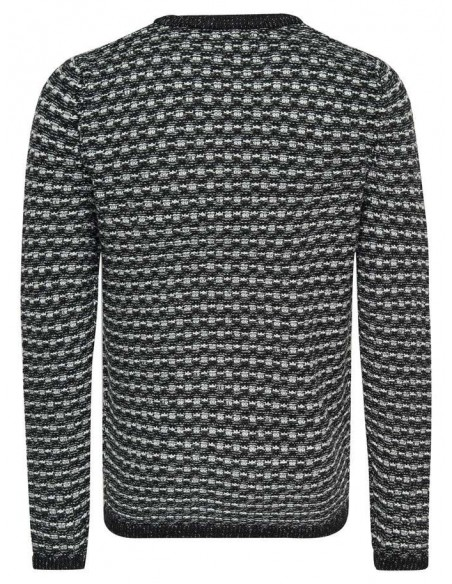 pull homme Only&sons gris Onsdoc 3 crew neck knit noos