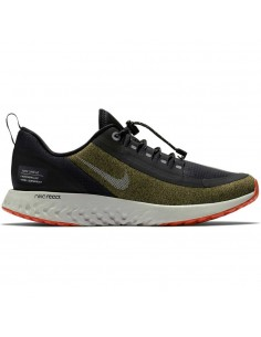 sneaker enfant nike kaki Nike epic react shield AV4048-300