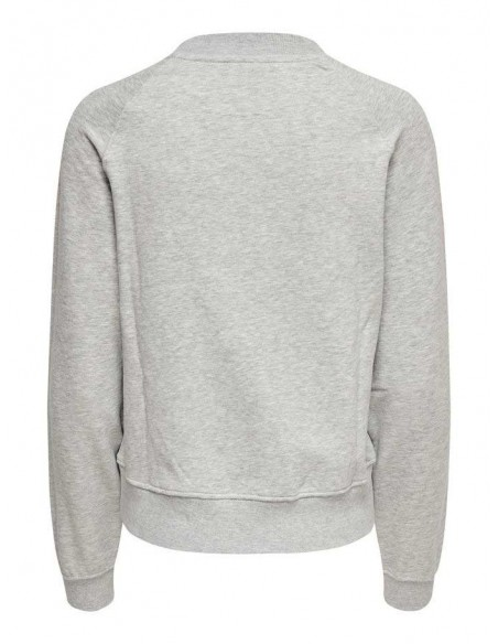 sweat only gris Onllotta l/s o-neck bf swt