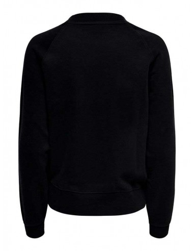 sweat only noir Onllotta l/s o-neck bf swt