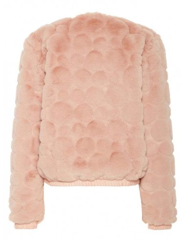 bomber fille name it rose Nkfseline faux fur bomber