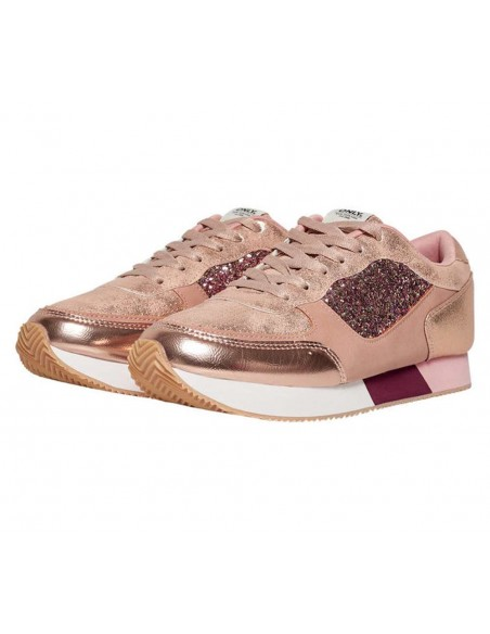 basket femme only rose Onlsillie mix sneaker
