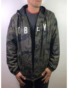 veste coupe vent obey camo Anyway