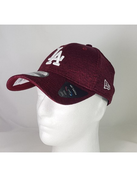 casquette homme newera bordeaux Dry switch 9forty losdod