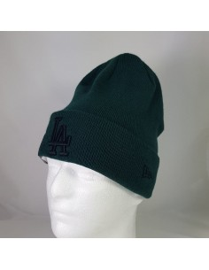 bonnet homme newera vert League essential cuff 11794669