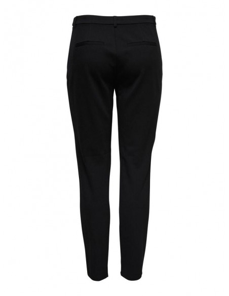pantalon only noir Onlpoptrash studded tape pant