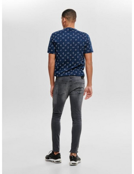 jean's homme only&sons gris Onswarp grey dcc 2051 noos