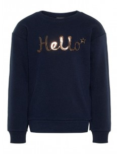 sweat fille name it bleu Nkfbretty ls sweat unb