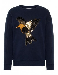 pull fille name it bleu Nkfbirna ls sweat unb