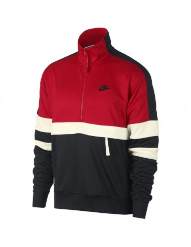 pull nike air rouge homme